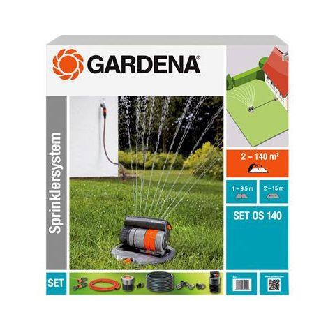 GARDENA kompletní sada se čtyřplošným zadešťovačem OS 140 (8221-20)