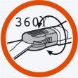 GARDENA Nůžky na trávu řady Classic, otočné (8731-20)