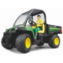 Gator, užitkový vůz  XUV 855D John Deere + řidič 02490 BRUDER