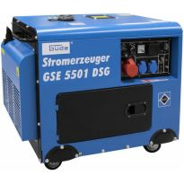 Generátor proudu 6,5kW, 400V/230V, GSE 5501 DSG GÜDE