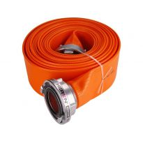 """Hadice B75 PVC Orange 10m se spojkami, 3"""", 10m, HERON"""