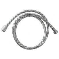 Hadice sprchová, černo/stříbrná PVC, 150cm, ,, PVC, VIKING