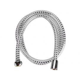 Hadice sprchová, stříbrný pruh, 150cm, PVC, VIKING