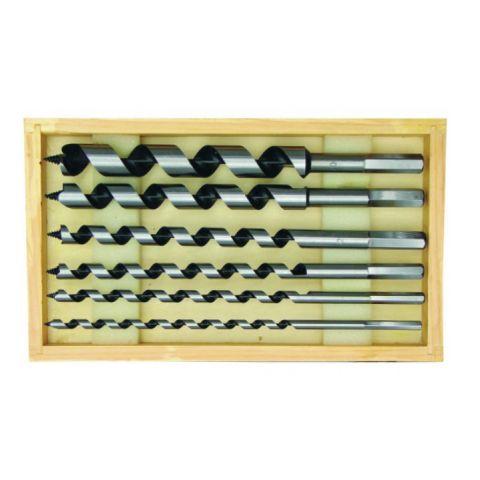 Hadovité vrtáky do dřeva 6ks 230mm