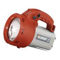Halogenová nabíjecí ruční svítilna s bočním světlem, EXTOL