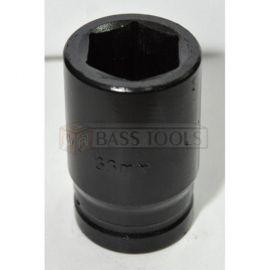 """Hlavice nástrčná rázová 1"""", 33mm, BASS"""
