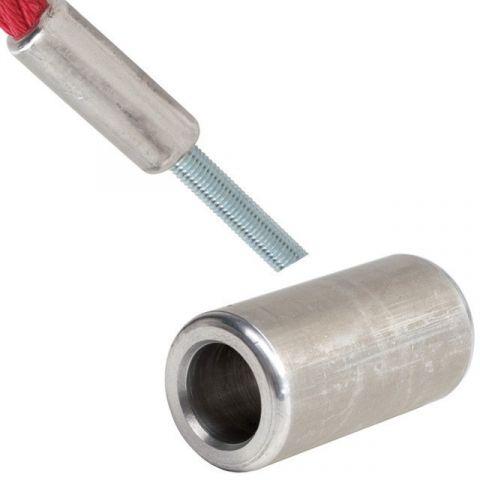 Hliníková svorka k lanu s ocelovým jádrem, kulatá KAXL