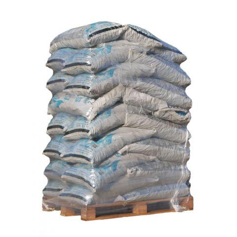 Balené, pytlované hnědé Bílinské uhlí pro automatické kotle 800 kg, hnědé uhlí - ořech 2, 10-25mm EXPOL