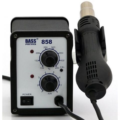 Horkovzdušná pájka, vyfoukávačka 650W, BASS