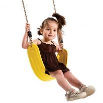 Houpačka, plastový pružný sedák, lano PP10 KAXL