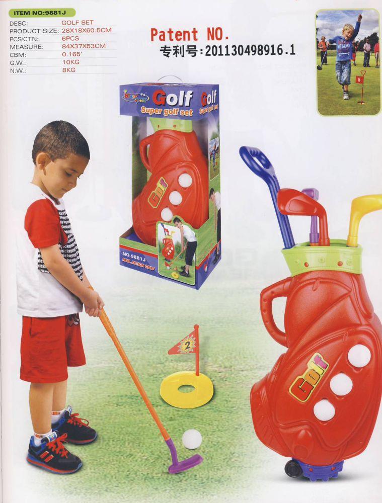 Hračka G21 Golf Super Nářadí-Sklad 1 | 6