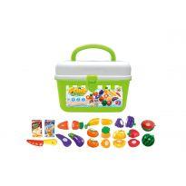 Hračka G21 Ovoce a zelenina v kufříku