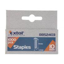 Hřebíky, balení 1000ks, 10mm, 2,0x0,52x1,2mm, EXTOL PREMIUM
