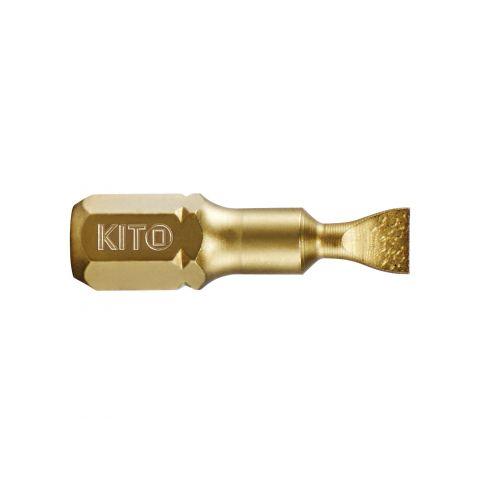 Hrot, 6,5x25mm, S2/TiN, KITO