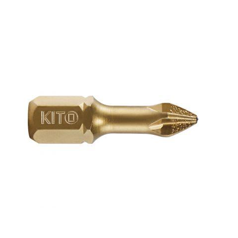Hrot, PH 3x25mm, S2/TiN, KITO