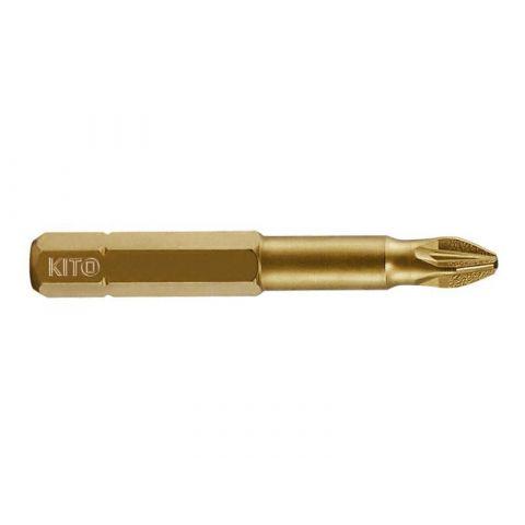 Hrot, PZ 2x50mm, S2/TiN, KITO
