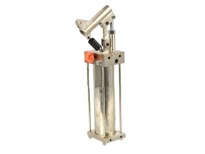 Hydraulická nožní pumpa pro dílenský lis 20t GEKO
