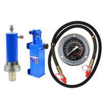 Hydraulická pumpa pro dílenské lisy 30t s manometrem GEKO