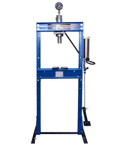 Hydraulický lis s manometrem a nožní pumpou 20t GEKO Nářadí-Sklad 1 | 95.4