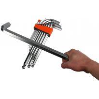 Imbusové klíče 2-19mm 13ks MAR-POL