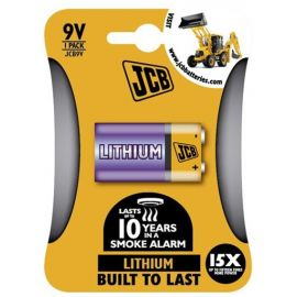 JCB lithiová baterie 9V, blistr 1ks: S60