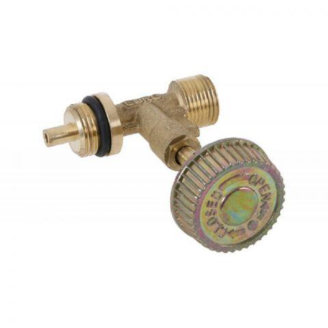 Jednocestný uzavírací ventil na 2kg plynovou láhev s výstupním závitem G 3/8L
