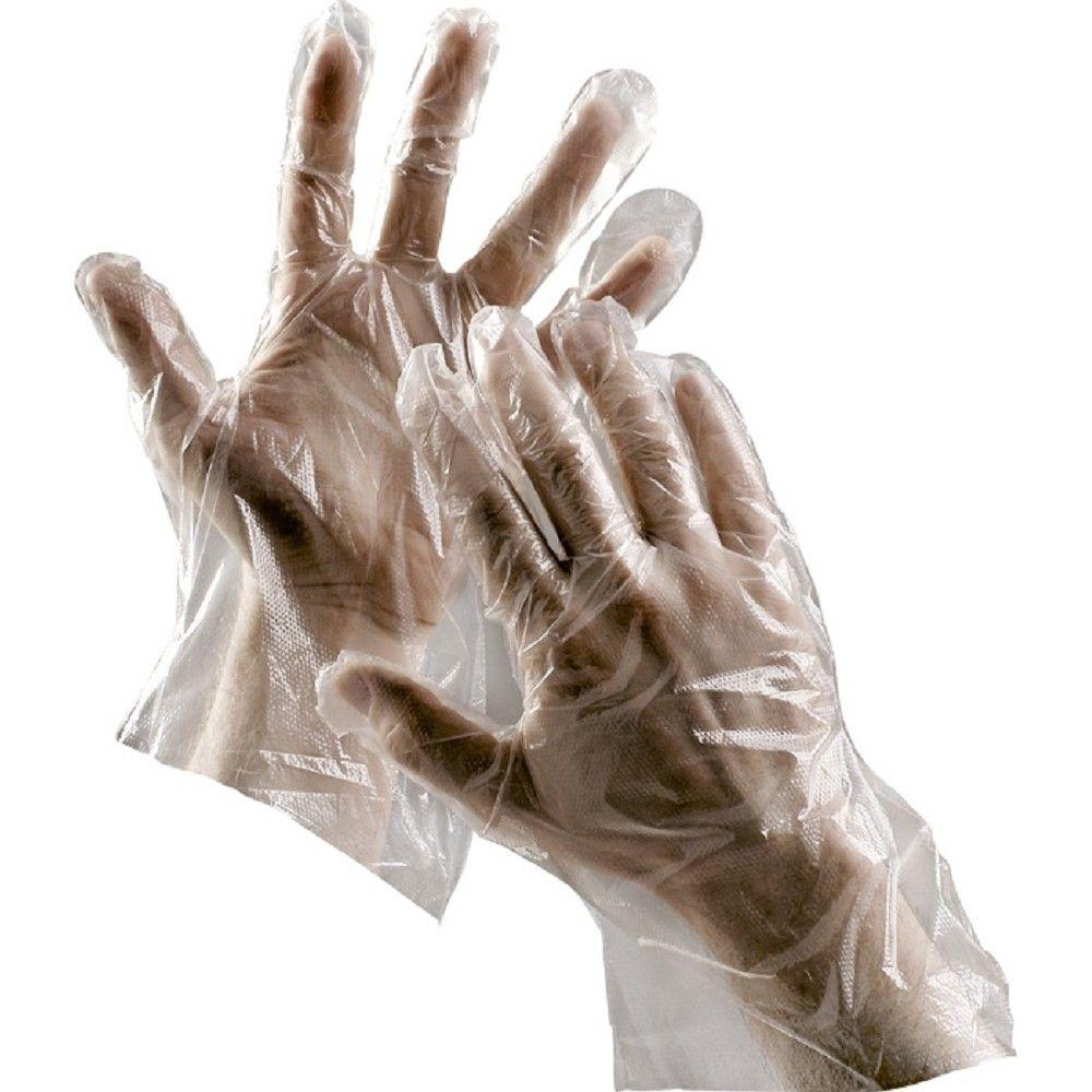 Jednorázové rukavice DUCK polyethylenové vel. 9, 100ks *HOBY 0Kg C0109000599090