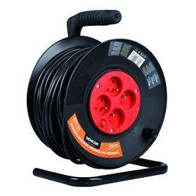 Kabel prodlužovací s bubnem 25m/4 3×1,5mm SPC 50 SENCOR Nářadí-Sklad 1 | 0