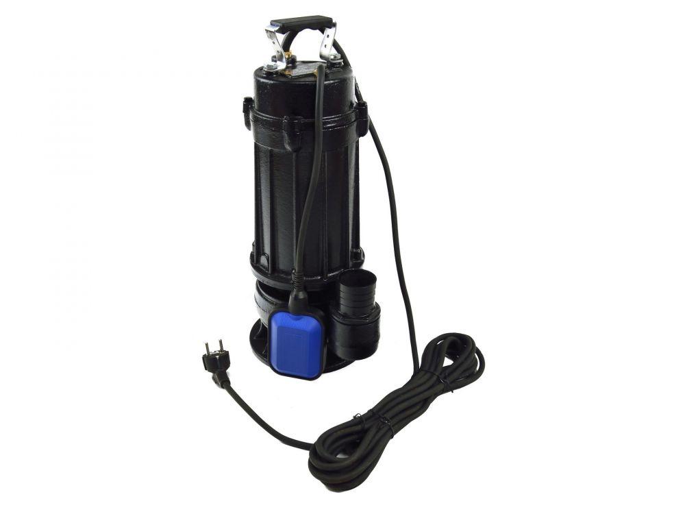 Kalové čerpadlo do studny a septiku 750W s plovákem a drtičem litina WQCD-0,75 GEKO Nářadí-Sklad 1 | 0