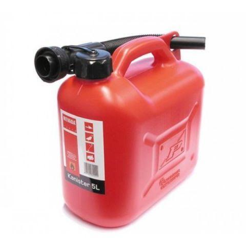 Kanystr na benzín 5L s nálevkou
