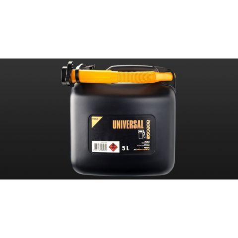 Kanystr na benzín 5l s nálevkou OLO020 UNIVERSAL