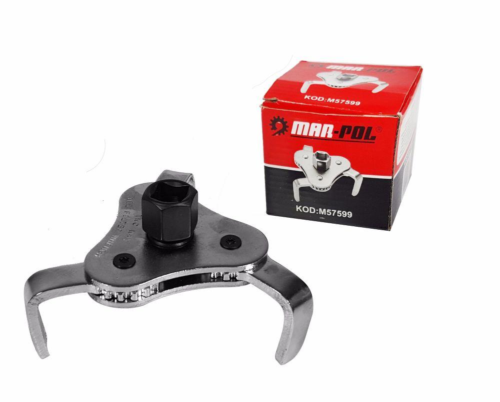 Klíč na olejový filtr nastavitelný 60-110mm MAR-POL