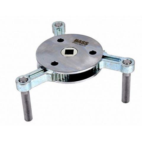 Klíč na olejový filtr nastavitelný 95-165mm, BASS