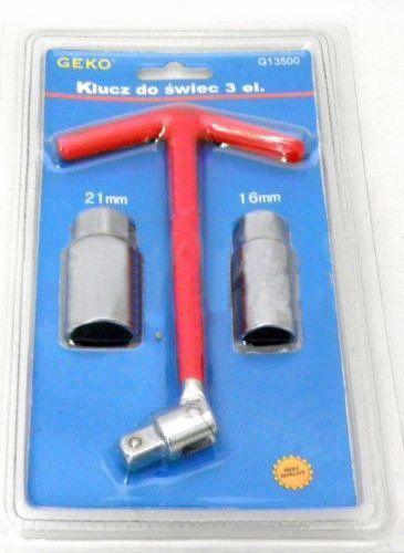 Klíč na svíčky, 3ks GEKO