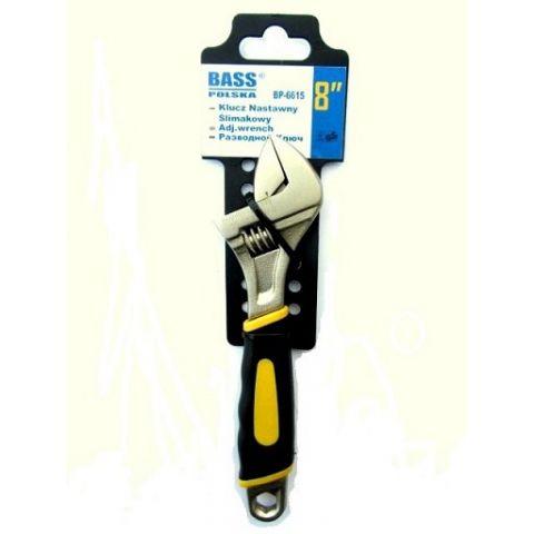 """Klíč nastavitelný 8"""", 200mm, BASS"""