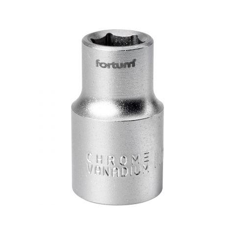 Klíč nástrčný, 1/2', 11,0mm, L 38mm, 61CrV5, FORTUM