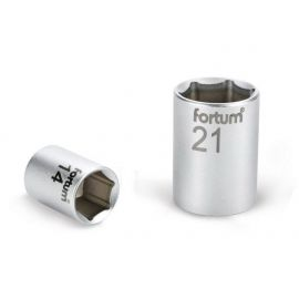 Klíč nástrčný, 1/2', 18,0mm, L 38mm, 61CrV5, FORTUM