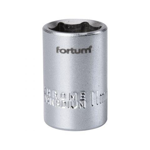 Klíč nástrčný, 1/4', 11,0mm, L 25mm, 61CrV5, FORTUM