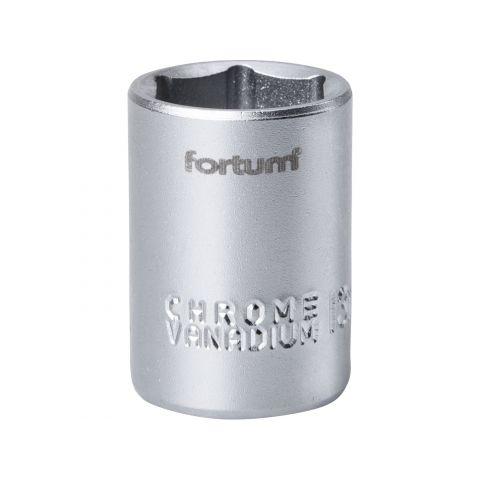 Klíč nástrčný, 1/4', 13,0mm, L 25mm, 61CrV5, FORTUM