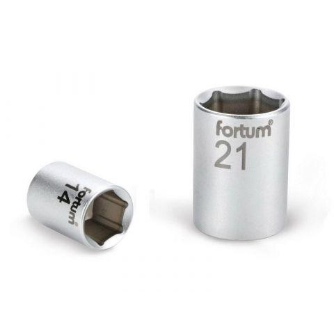 Klíč nástrčný, 1/4', 7,0mm, L 25mm, 61CrV5, FORTUM