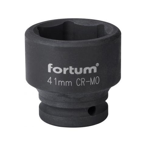 """Klíč nástrčný rázový, 3/4"""", 41mm, L 57mm, CrMoV, FORTUM"""
