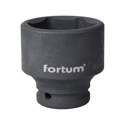 """Klíč nástrčný rázový, 3/4"""", 50mm, L 68mm, CrMoV, FORTUM"""