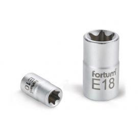 Klíč nástrčný vnitřní TORX, 1/2', E18, L 38mm, 61CrV5, FORTUM
