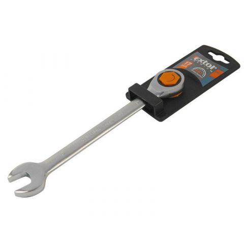 Klíč ráčnový očkoplochý, 45 zubů, 15mm, ráčna 45 zubů, CrV, EXTOL PREMIUM