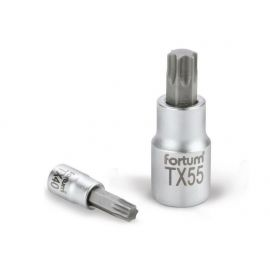 Klíč zástrčný TORX, 1/2', TX40, L 55mm, CrV/S2, FORTUM