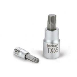 Klíč zástrčný TORX, 1/2', TX45, L 55mm, CrV/S2, FORTUM