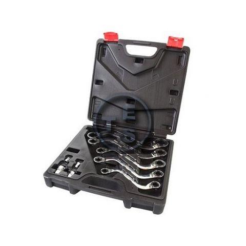Klíče očkové S-typ 10-22mm, sada 5ks, BASS