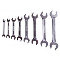 Klíče ploché, sada 8ks, 6-22mm, W.S., EXTOL CRAFT
