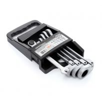 Klíče ráčnové očkoploché s kloubem 5ks 8-17mm KRAFT&DELE