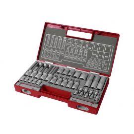 Klíče TORX nástrčné a zástrčné 32ks, FORTUM
